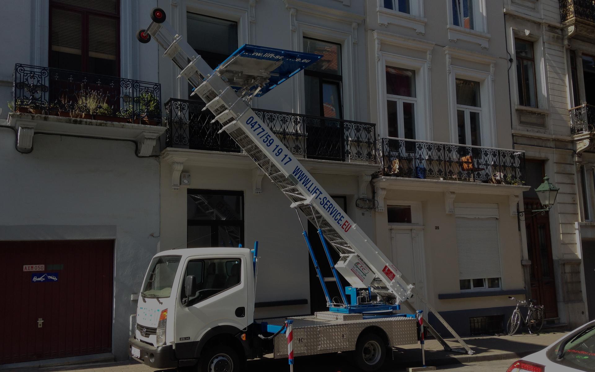 Lift Service est à votre disposition pour vos déménagements, transports et livraisons, besoin d'un lift ou d'un garde-meubles
